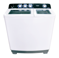 Twin Tube Semi Automatic Washing Machines